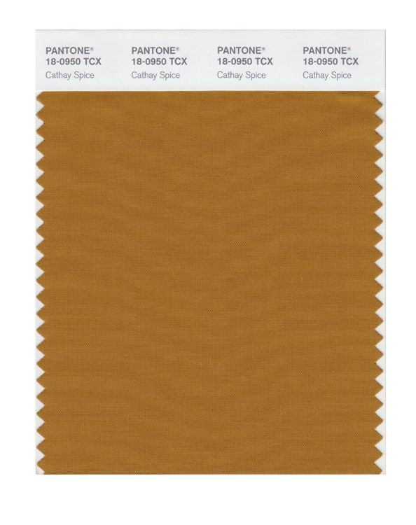 PANTONE SMART swatch 18-0950 TCX Cathay Spice