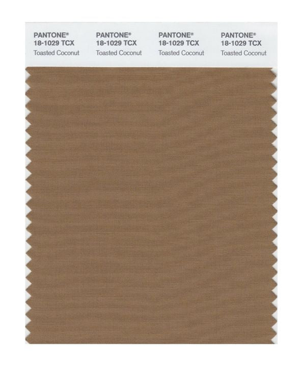PANTONE SMART swatch 18-1029 TCX Toasted Coconut