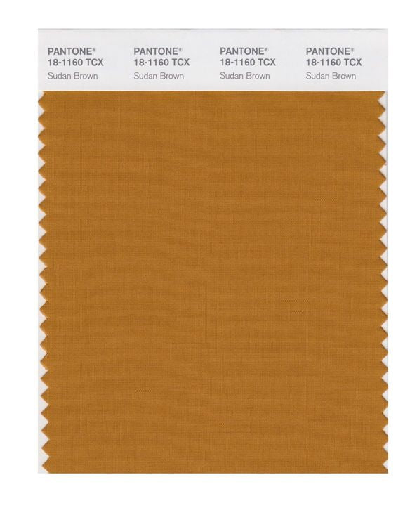 PANTONE SMART swatch 18-1160 TCX Sudan Brown