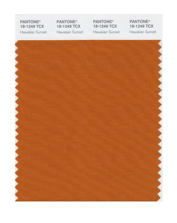 PANTONE SMART swatch 18-1249 TCX Hawaiian Sunset
