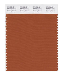 PANTONE SMART swatch 18-1250 TCX Bombay Brown