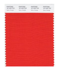 PANTONE SMART swatch 18-1445 TCX Spicy Orange