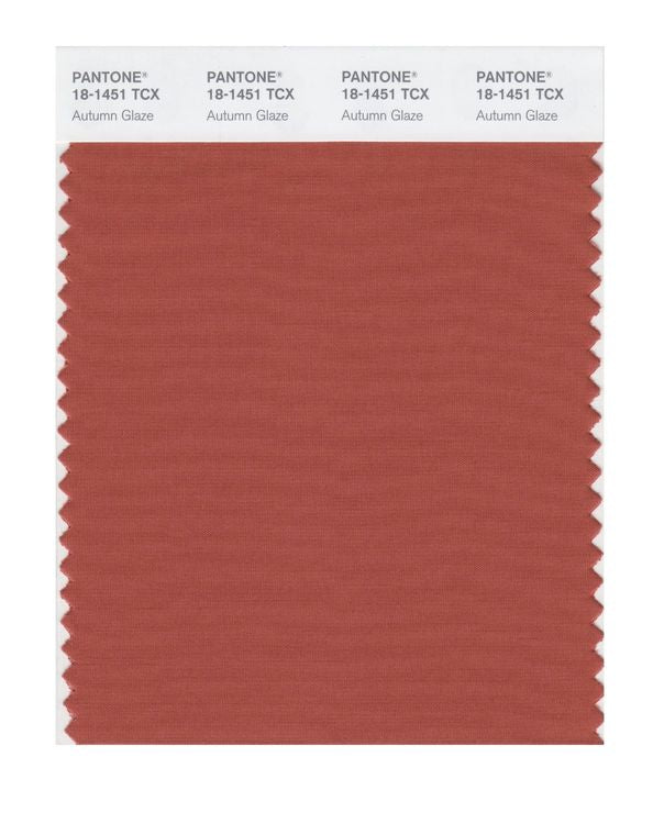 PANTONE SMART swatch 18-1451 TCX Autumn Glaze