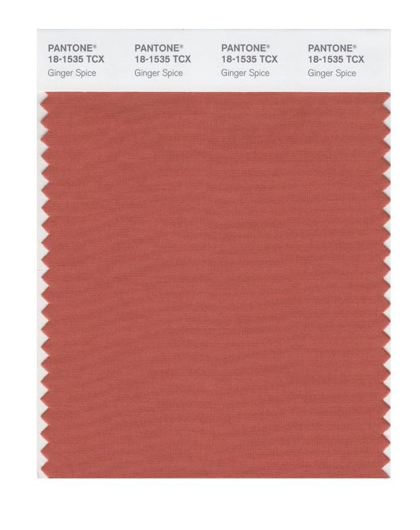 PANTONE SMART swatch 18-1535 TCX Ginger Spice