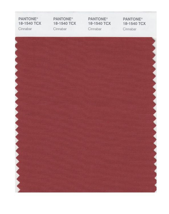 PANTONE SMART swatch 18-1540 TCX Cinnabar