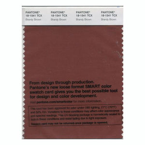 PANTONE SMART swatch 18-1541 TCX Brandy Brown