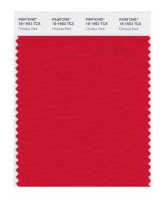 PANTONE SMART swatch 18-1663 TCX Chinese Red