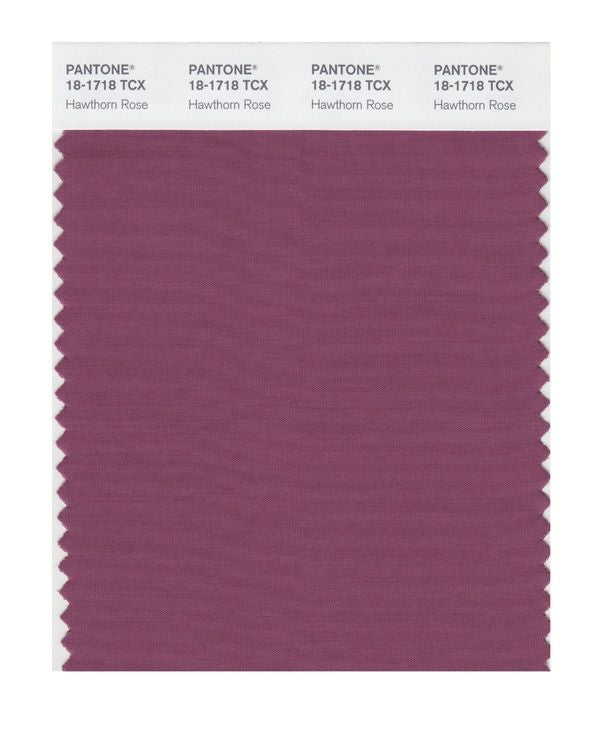 PANTONE SMART swatch 18-1718 TCX Hawthorn Rose