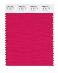 PANTONE SMART swatch 18-1852 TCX Rose Red