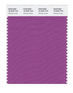 PANTONE SMART swatch 18-3025 TCX Striking Purple