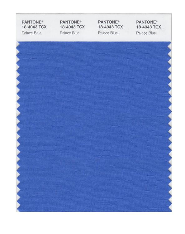 PANTONE SMART swatch 18-4043 TCX Palace Blue