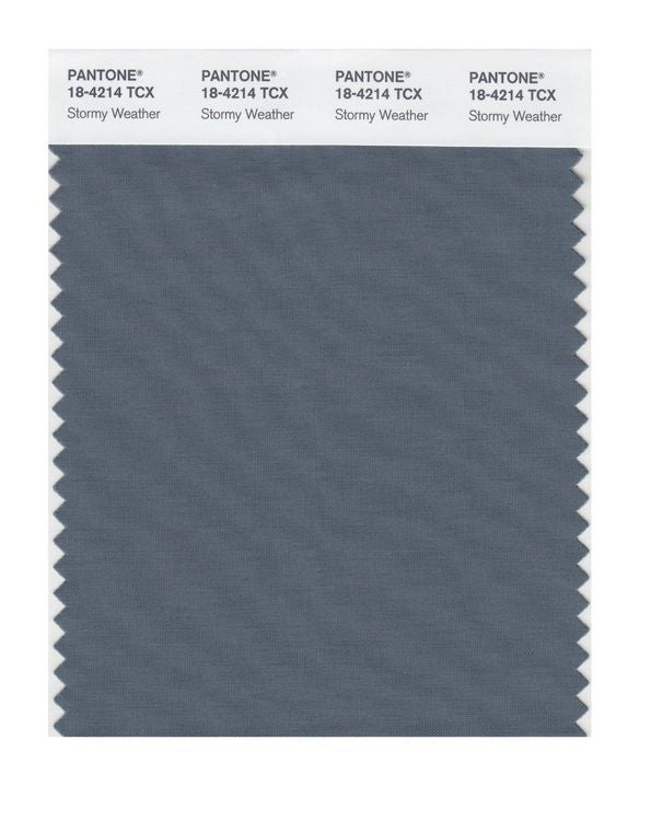PANTONE SMART swatch 18-4214 TCX Stormy Weather