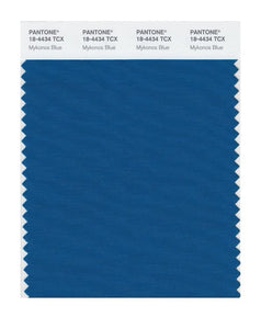 PANTONE SMART swatch 18-4434 TCX Mykonos Blue