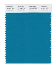 PANTONE SMART swatch 18-4525 TCX Caribbean Sea