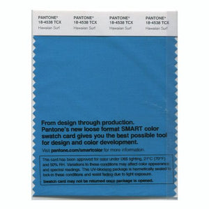 PANTONE SMART swatch 18-4538 TCX Hawaiian Surf