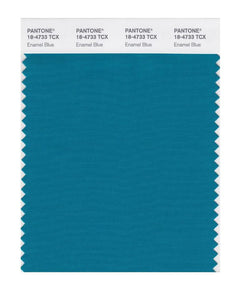 PANTONE SMART swatch 18-4733 TCX Enamel Blue