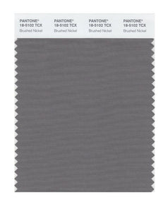 PANTONE SMART swatch 18-5102 TCX Brushed Nickel
