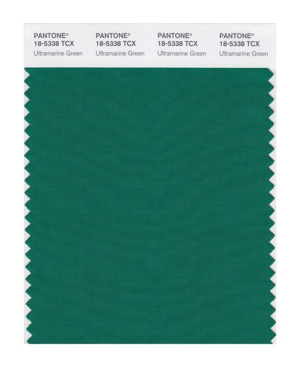 PANTONE SMART swatch 18-5338 TCX Ultramarine Green