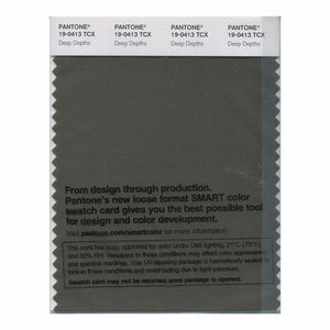 PANTONE SMART swatch 19-0413 TCX Deep Depths