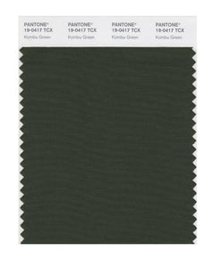 PANTONE SMART swatch 19-0417 TCX Kombu Green