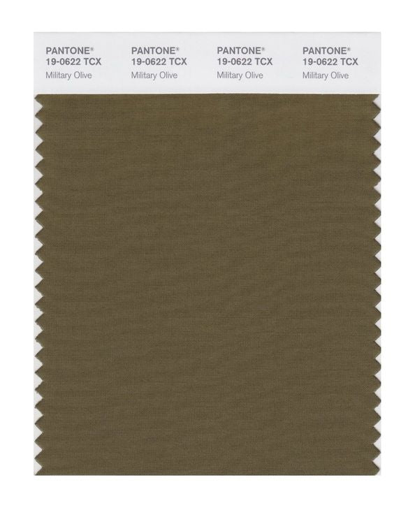 PANTONE SMART swatch 19-0622 TCX Military Olive