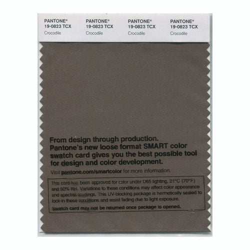 PANTONE SMART swatch 19-0823 TCX Crocodile