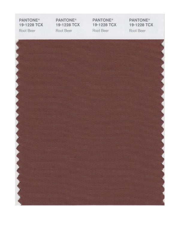 PANTONE SMART swatch 19-1228 TCX Root Beer
