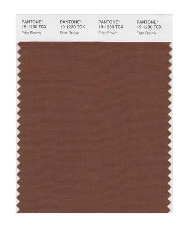 PANTONE SMART swatch 19-1230 TCX Friar Brown