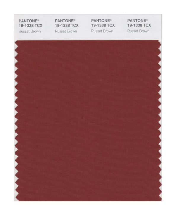 PANTONE SMART swatch 19-1338 TCX Russet Brown