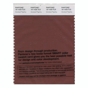 PANTONE SMART swatch 19-1429 TCX Smoked Paprika