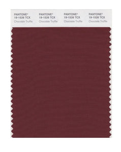 PANTONE SMART swatch 19-1526 TCX Chocolate Truffle