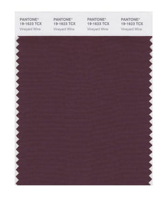 PANTONE SMART swatch 19-1623 TCX Vineyard Wine