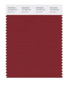 PANTONE SMART swatch 19-1650 TCX Biking Red