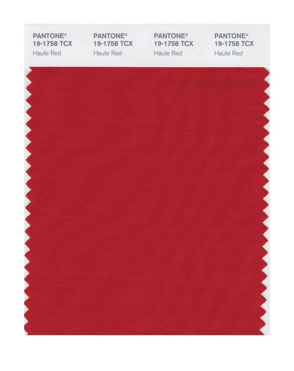 PANTONE SMART swatch 19-1758 TCX Haute Red