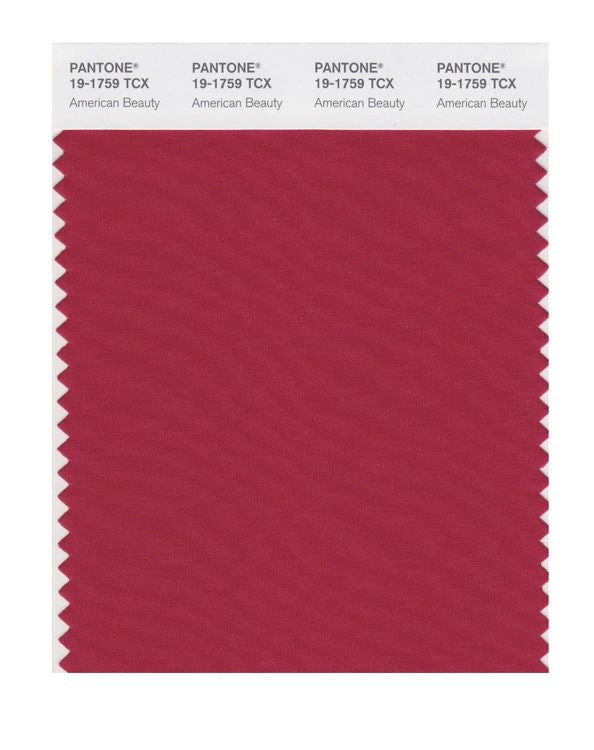 PANTONE SMART swatch 19-1759 TCX American Beauty