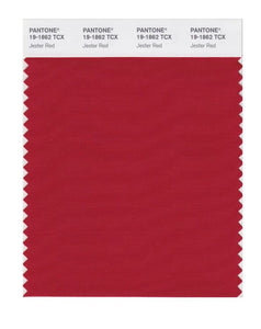 PANTONE SMART swatch 19-1862 TCX Jester Red
