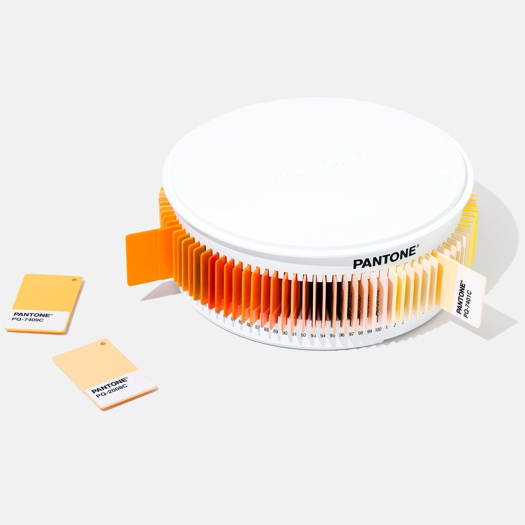 Pantone Plastic Chip Color Sets orange