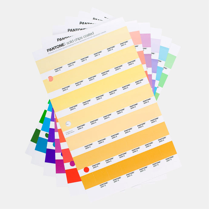 Pantone Solid Chip Replacement Pages Coated & Uncoated