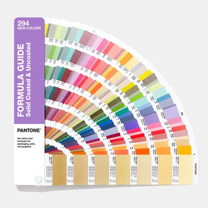 Pantone Formula Guide Supplément Coated & Uncoated