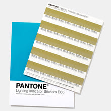 Charger l'image dans la galerie, Pantone Lighting Indicator Stickers D65