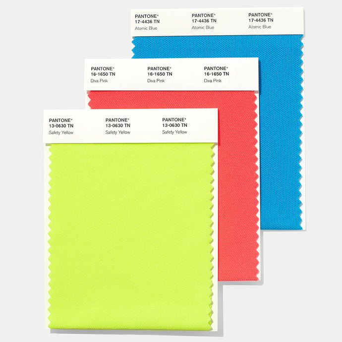 Pantone Nylon Brights Swatch Card
