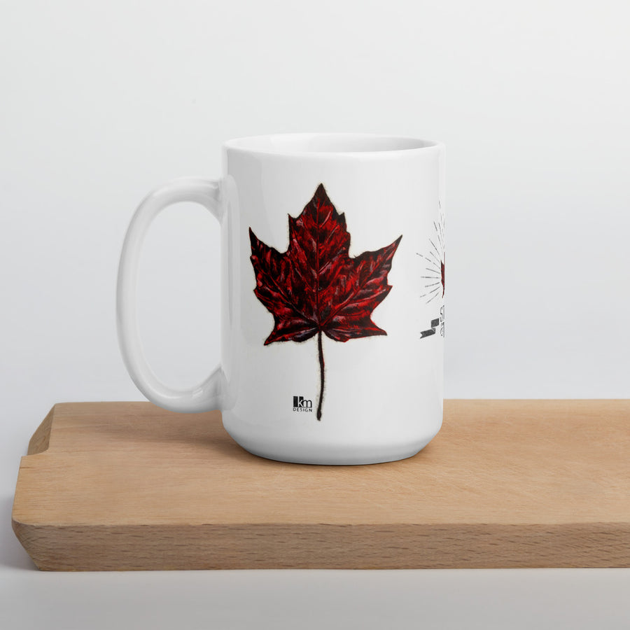 Red Series - Ceramic Mugs - Kristine MacGregor - KM Design