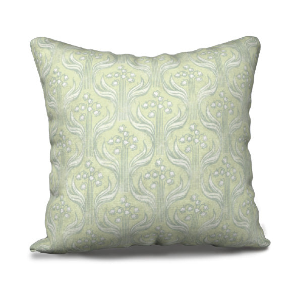 "Pillowcase 18"" - Lily Ogee - Chartrouse and Sage - Kristine MacGregor - KM Design"