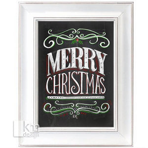 Chalk Art - Christmas, [product type],handmade - Kristine MacGregor - KM Design - Art - Printmaking