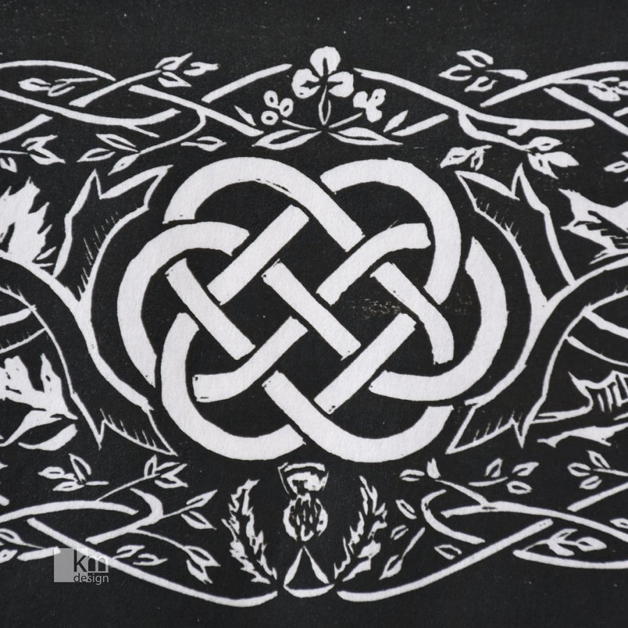 Tree Of Life - Celtic Knotwork Original Print