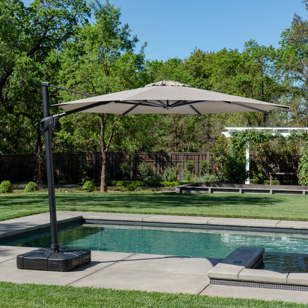 11' Round Offset Umbrella