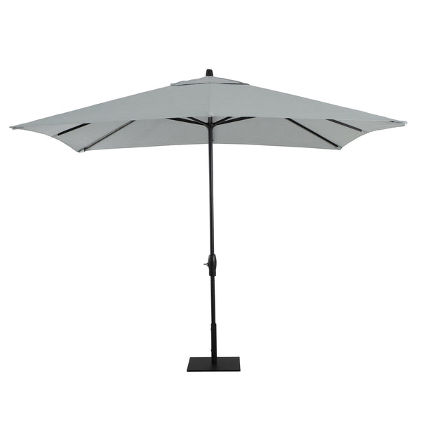 8' x 10' Rectangular Aluminum Market Umbrella