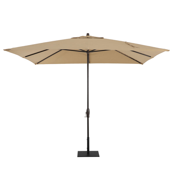 Verena 8' x 10' Rectangular Aluminum Market Umbrella