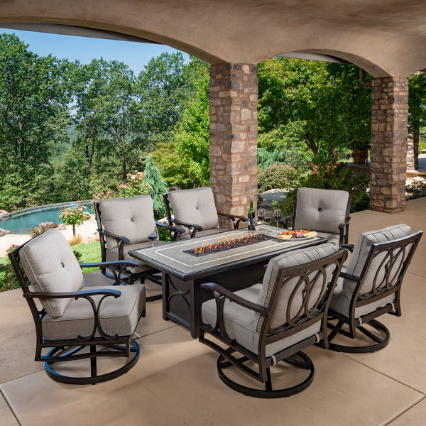 Abington 7-Piece Fire Deep Seating