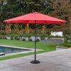 11' Sunbrella® Aluminum Market Umbrella - Jockey Red
